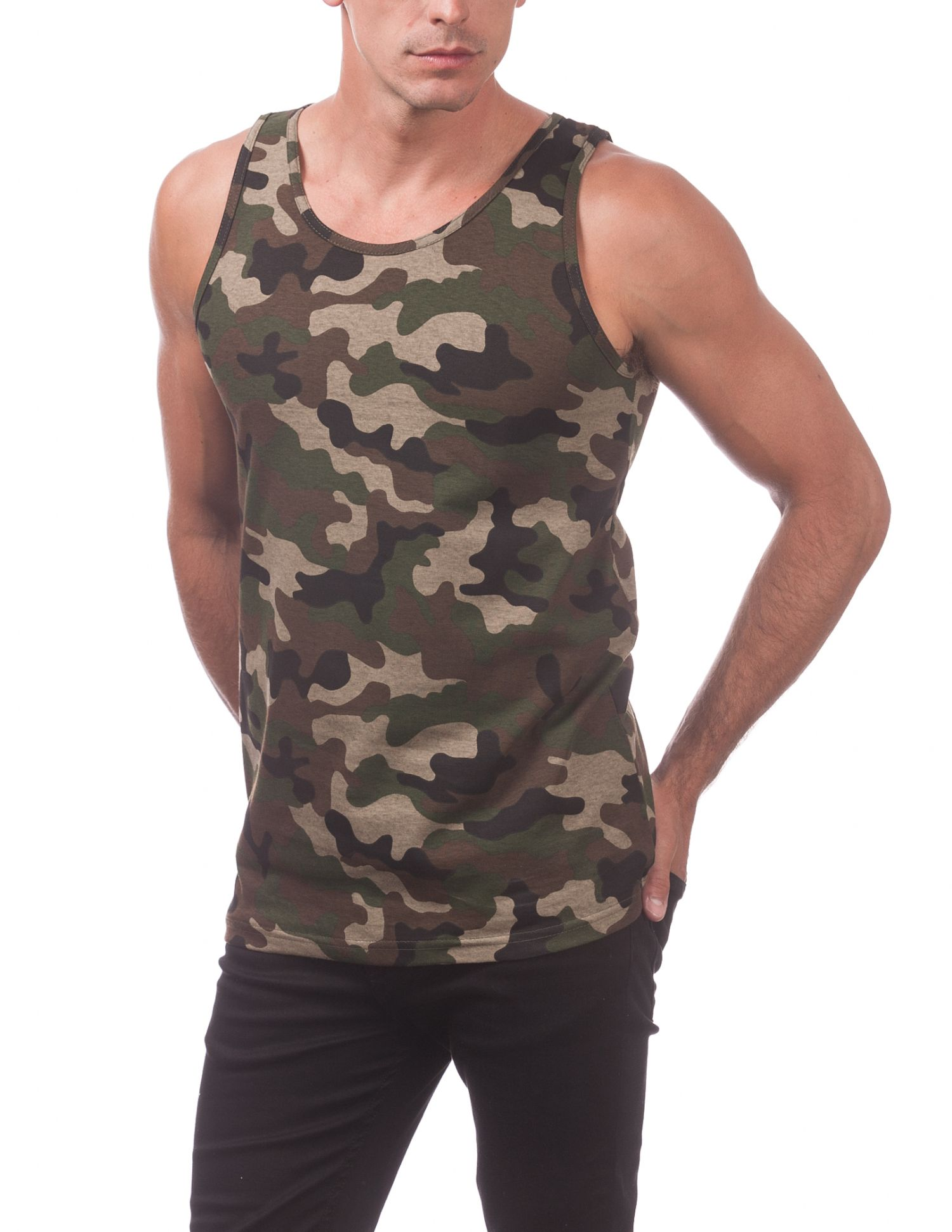 132 Best Images About Xdress On Pinterest: 132-CAMO GREEN CAMO Comfort Cotton Tank Top (Camo