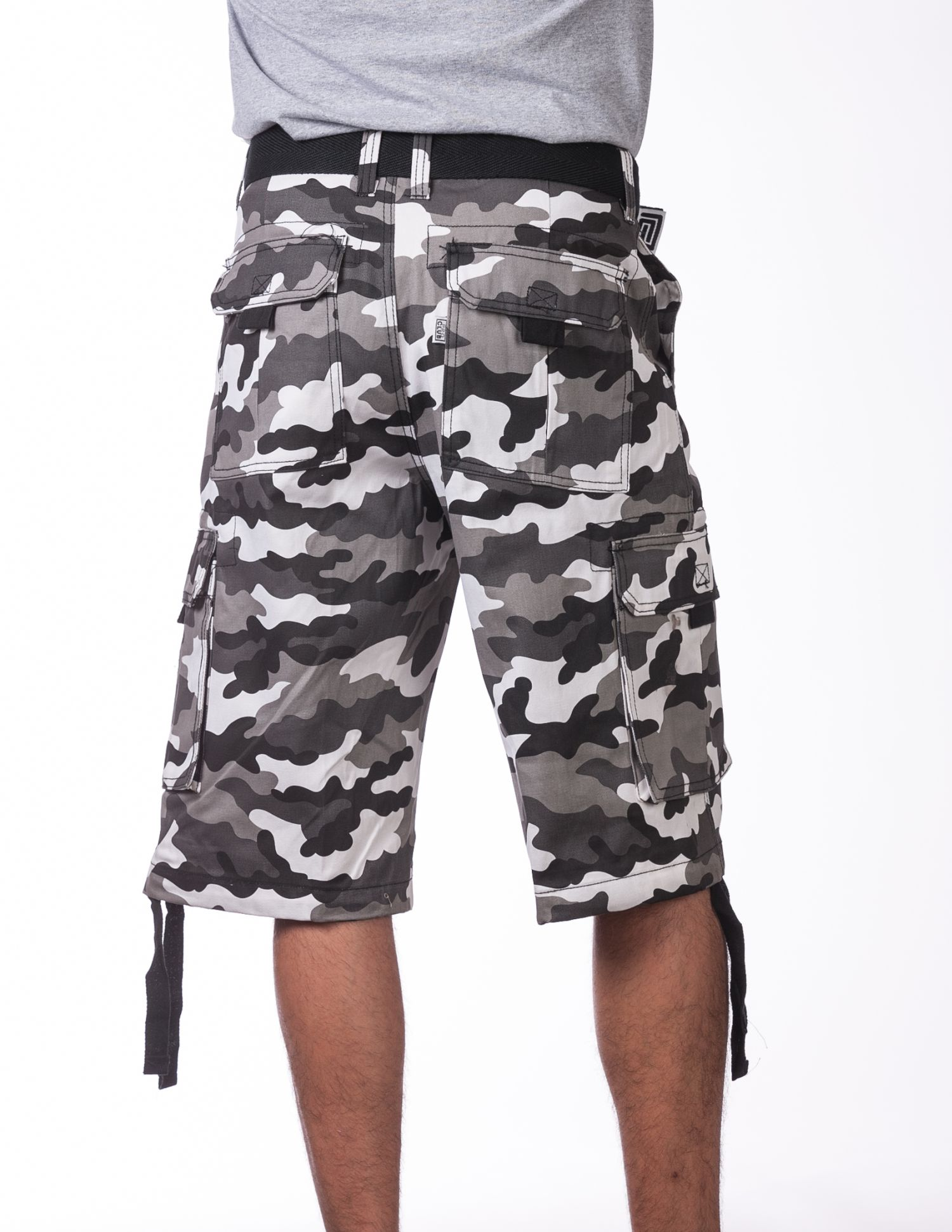 166 City Camo Twill Cargo Shorts Mens