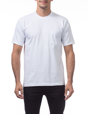 Heavyweight Short Sleeve Pocket Tee