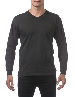 Comfort Long Sleeve V-Neck Tee