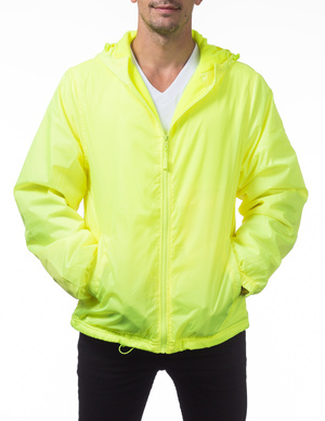 Fleece Lined Windbreaker Jacket
