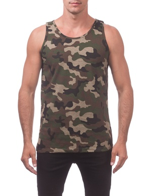 Comfort Cotton Tank Top (Camo)