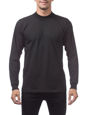Mock Turtleneck Long Sleeve Tee