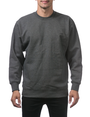 cbb6d301ddb Comfort Crew Neck Fleece Pullover Sweater (9oz)