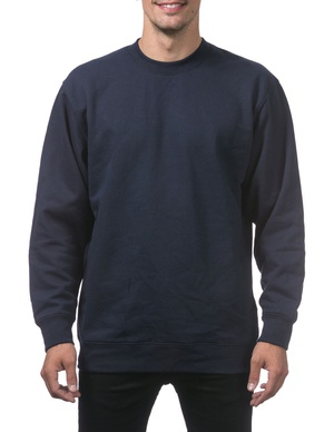 Heavyweight Crew Neck Fleece Pullover Sweater (13oz)
