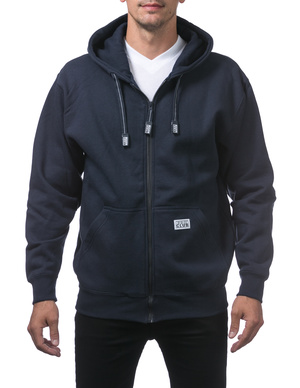 Heavyweight Full Zip Fleece Hoodie