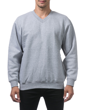 Heavyweight V-Neck Pullover Sweater