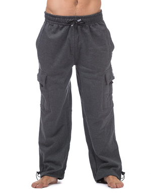 Heavyweight Fleece Cargo Pants