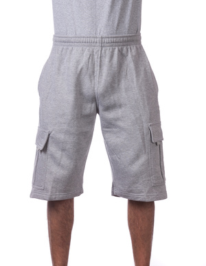 Fleece Cargo Shorts