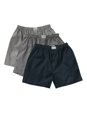 Men's Boxer Trunks (3-Pack)