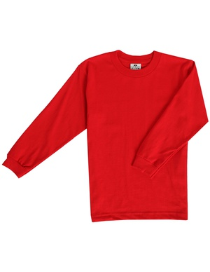 Pro Club Youth Long Sleeve Crew Neck Tee