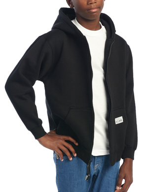 Pro Club Youth Fleece Full Zip Hoodie